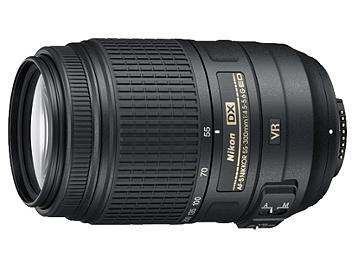 Nikon 55-300mm F4.5-5.6G AF-S DX ED VR Nikkor Lens