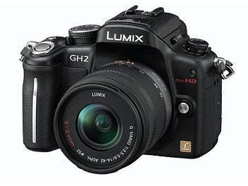 Panasonic Lumix DMC-GH2 Camera PAL Kit with 14-42mm Lens