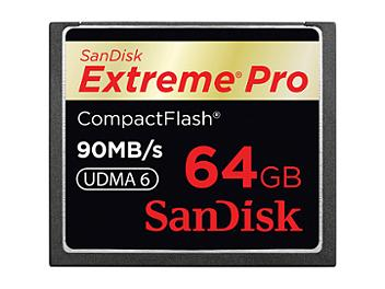 SanDisk 64GB ExtremePro CompactFlash Card 90MB/s (pack 10 pcs)