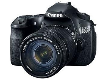 Canon EOS-60D DSLR Camera Kit with Canon EF-S 18-200mm IS Lens