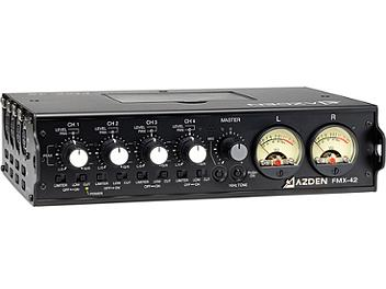 Azden FMX-42 4-Channel Microphone Field Mixer