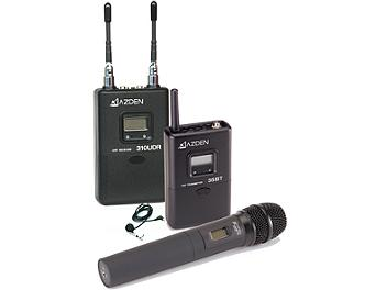Azden 310LH UHF On-Camera Handheld & Bodypack System