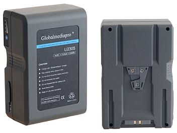 Globalmediapro Li230S-R V-Mount Li-ion Battery 230Wh for Red Camera
