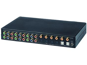 Globalmediapro SHE YS04MD 4x2 Component Video Switcher with Digital Audio