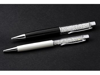 Swarovski Crystalline Ballpoint Solitaire Pearl Pen - 1079441 (pack 2 pcs)