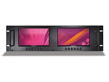 Viewtek LRM-7721 2 x 7-inch HD-SDI LCD Monitor
