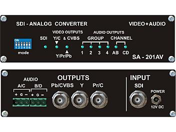 VideoSolutions SA-201AV SDI-Analog Converter PAL/SECAM with Audio