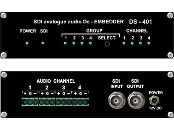 VideoSolutions DS-401 SDI Analog Audio De-Embedder