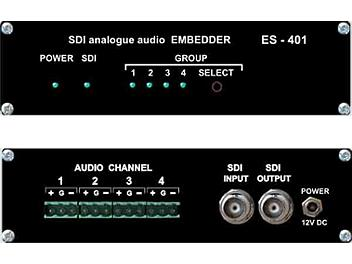 VideoSolutions ES-401 SDI Analog Audio Embedder