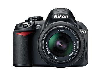 Nikon D3100 DSLR Camera Kit with Nikkor 18-55mm VR Lens