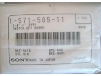 Sony 1-571-505-11 Switch,Key Board