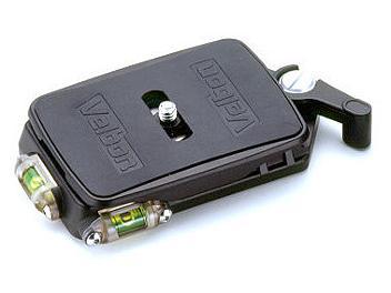 Velbon QRA-667L Quick-Release Adapter - Black