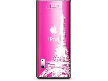 iLuv ICC306PRS City Landscape Clear Plastic iPod Case