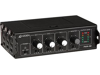 Azden FMX-32 3-Channel Microphone Field Mixer
