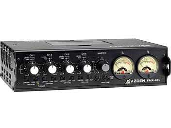 Azden FMX-42a 4-Channel Microphone Field Mixer
