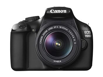 Canon EOS-1100D DSLR Camera Kit with EF-S 18-55mm IS II Lens