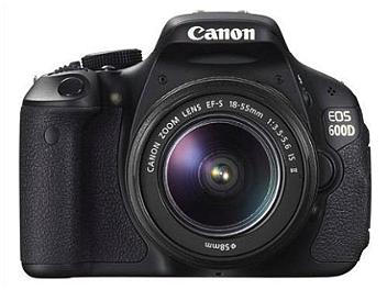 Canon EOS-600D DSLR Camera Kit with EF-S 18-55mm Lens