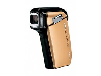 Sanyo VPC-HD800 Digital Camcorder - Gold