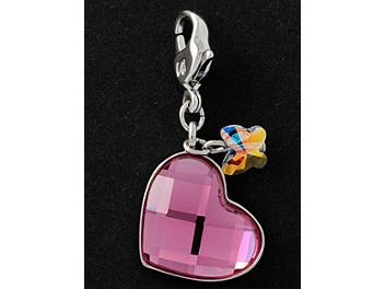Swarovski 1035252 Mini Heart Charm