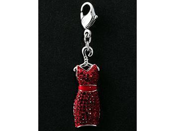 Swarovski 1064975 Red Dress Charm