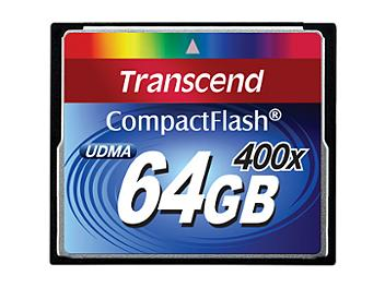 Transcend 64GB 400x CompactFlash Card (pack 5 pcs)