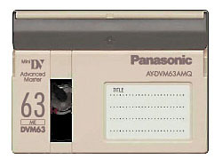 Panasonic AY-DVM63AMQ mini-DV Cassette (pack 20 pcs)