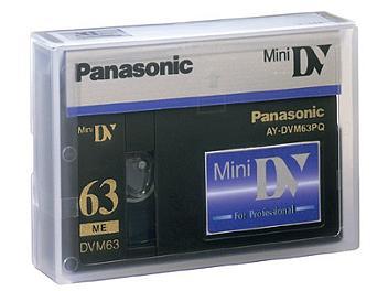 Panasonic AY-DVM63PQ mini-DV Cassette (pack 20 pcs)