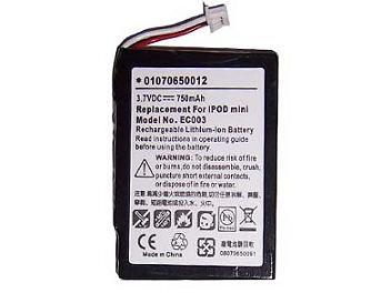 Globalmediapro PA-A005 MP3 Battery for iPod Mini