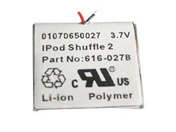 Globalmediapro PA-A016 MP3 Battery for iPod Shuffle-2