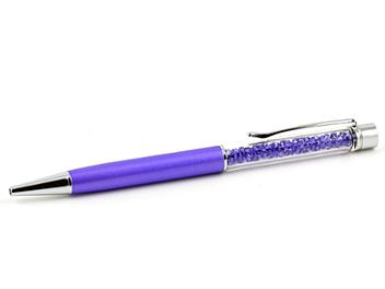 Swarovski Crystalline Ballpoint Lady Purple Pearl Pen - 1097072