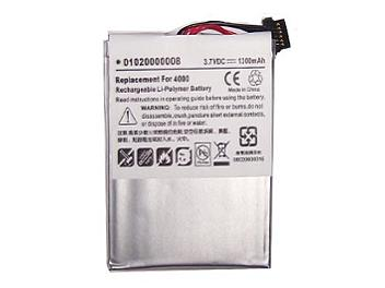 Globalmediapro PA-G4000 GPS Battery for Guide Airborad Guide 4000