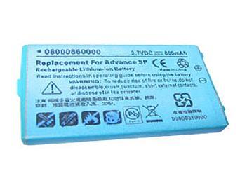 Globalmediapro PA-NN002 Battery for Nintendo Advance SP