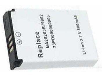 Globalmediapro PA-CR001 MP3 Battery for Creative Labs Nomad
