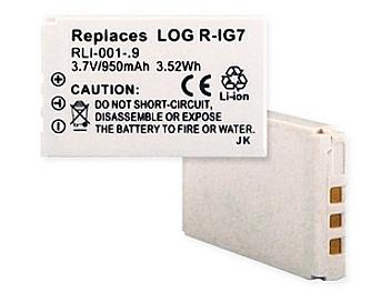 Globalmediapro CP-MX880 Battery for Logitech R-IG7