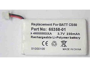 Globalmediapro PA-PL001 Battery for Plantronics CS50, CS60