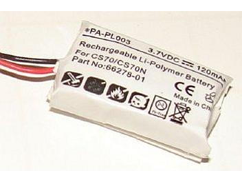 Globalmediapro PA-PL003 Battery for Plantronics CS70/CS70N