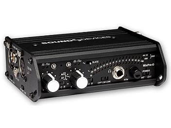 Sound Devices MixPre-D Compact Field Audio Mixer