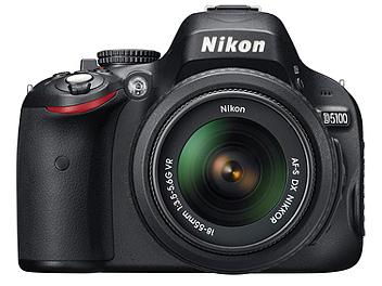 Nikon D5100 DSLR Camera with Nikon 18-55mm Lens