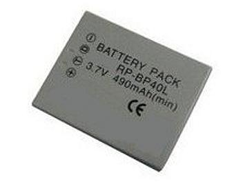 Globalmediapro PA-BP40L MP3 Battery for Panasonic SV-SD750V, SV-SD700V, RP-BP40L