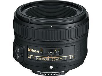 Nikon 50mm F1.8G AF-S Nikkor Lens