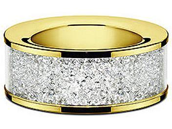 Swarovski 1068985 Gold Tea Light Candle Holder