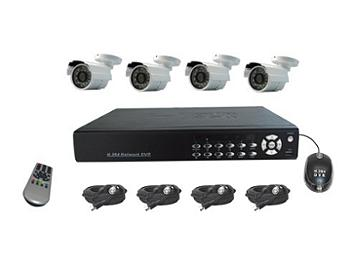 Senview D8004B-WK1 4-Channel DVR & Camera Kit PAL