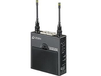 Azden 500UDR Receiver and 51HT Handheld Microphone UHF Wireless System