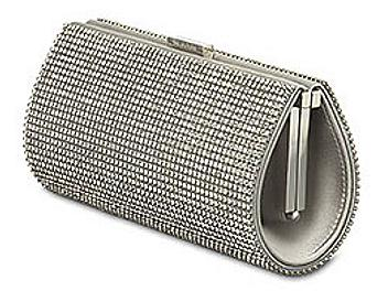 Swarovski 910455 Power Silver Shade Evening Bag