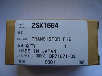 Panasonic 2SK1684 Silicon N-Channel Junction FET Transistor