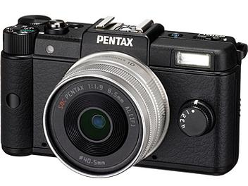 Pentax Q Digital SLR Camera with Pentax 8.5mm Lens - Black