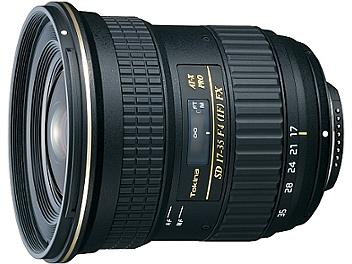 Tokina 17-35mm F4 AT-X Pro FX Lens - Nikon Mount