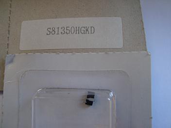 Panasonic S81350HGKD Part