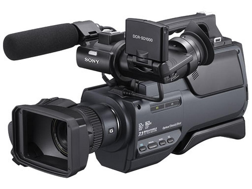 Sony DCR-SD1000 (DCR-SD1000E) SD Camcorder PAL