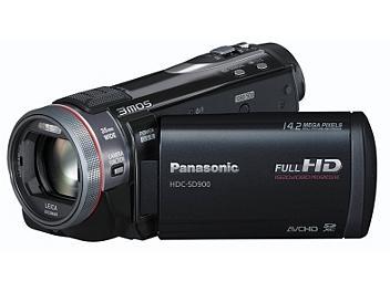 Panasonic HDC-SD900 HD Camcorder PAL - Black